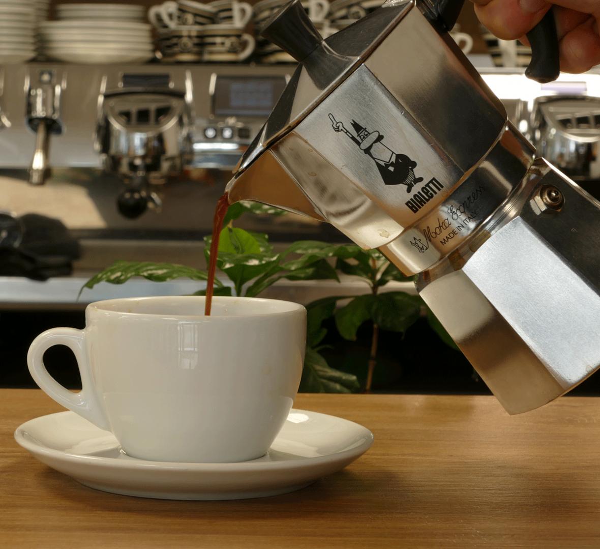 Espressokanne - Anleitung für  Anfänger und Profis