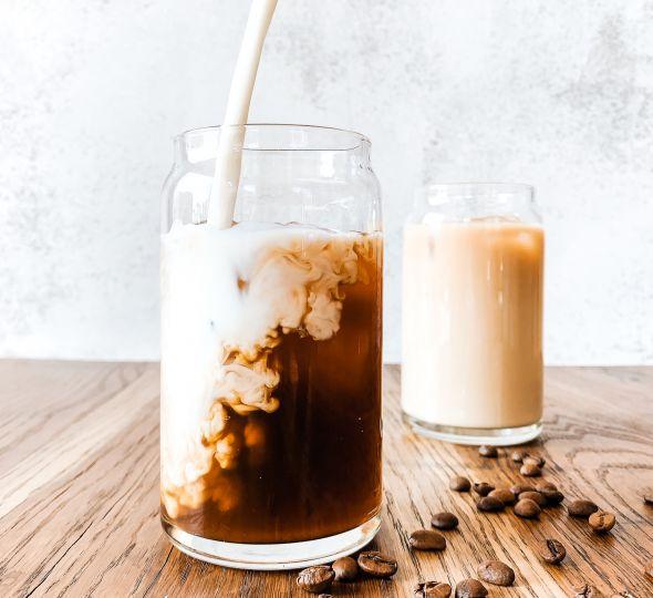 Milchalternativen für den Kaffee
