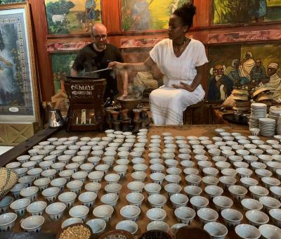 Specialty Coffee wird bei der Kaffeeverkostung, auch Cupping genannt, professionell verkostet