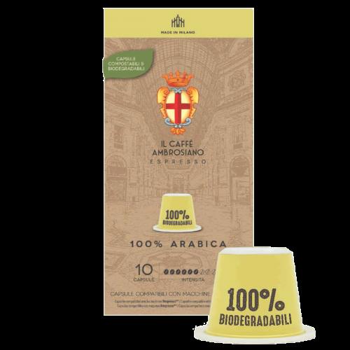 100 % Arabica Compostable Ambrosiano