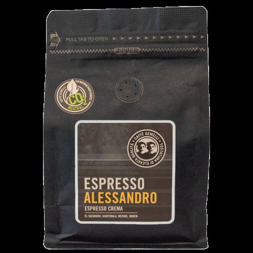 Espresso Alessandro Caffé Gemelli
