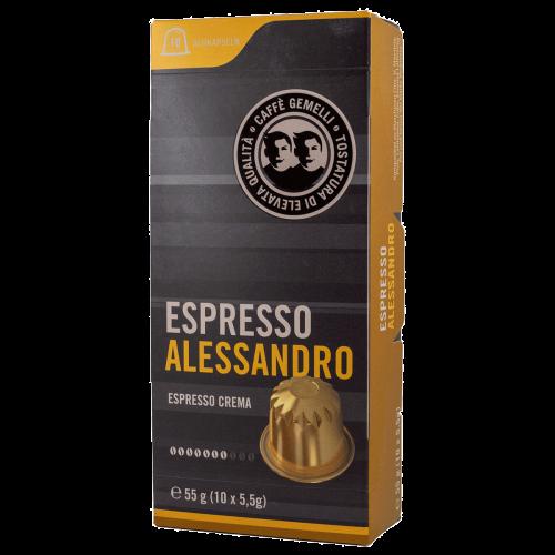 Espresso Alessandro Caffe Gemelli