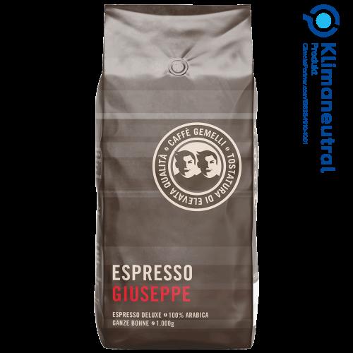 Espresso Giuseppe Caffé Gemelli klimaneutral