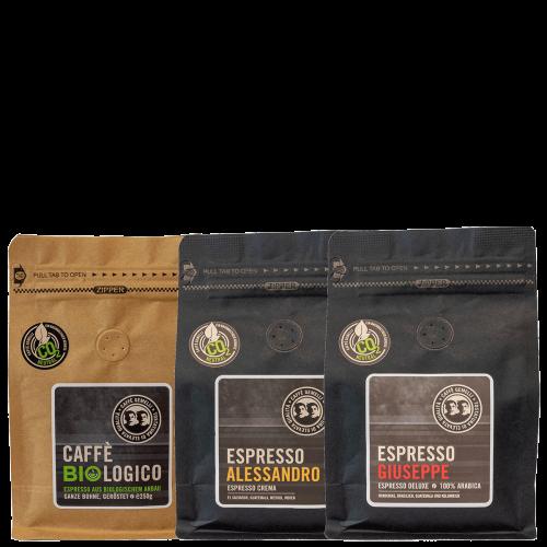 Espresso Probierpaket Caffe Gemelli