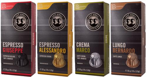Caffé Gemelli Starterpaket