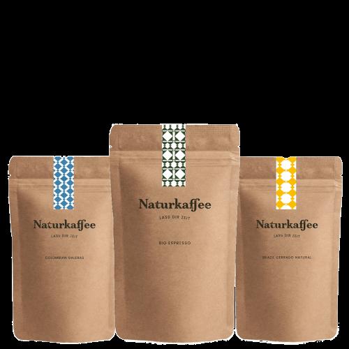 Naturkaffee Genusspaket
