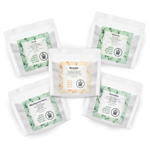 Specialty Coffee Moka Tasting Pack